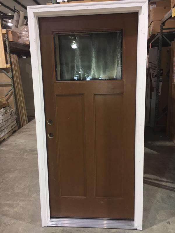 Exterior Door Glass Header